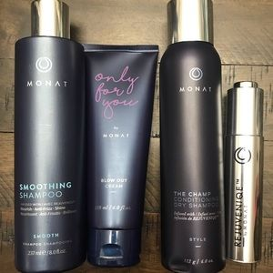 Monat Bundle- Oil, Shampoo, Dry Shampoo, Blow Out